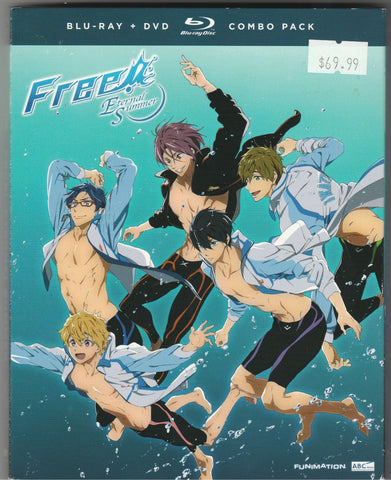 Free! Eternal Summer Blu-ray/DVD Combo Pack