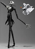 Kingdom Hearts: No. 7 Jack Skellington Play Arts Action Figure