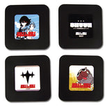 Kill la Kill: Four Piece Coaster Set