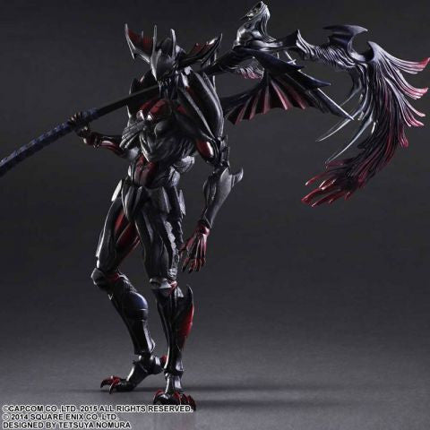 Monster Hunter 4 Ultimate: Diablos Armour (Rage Set) Play Arts Kai