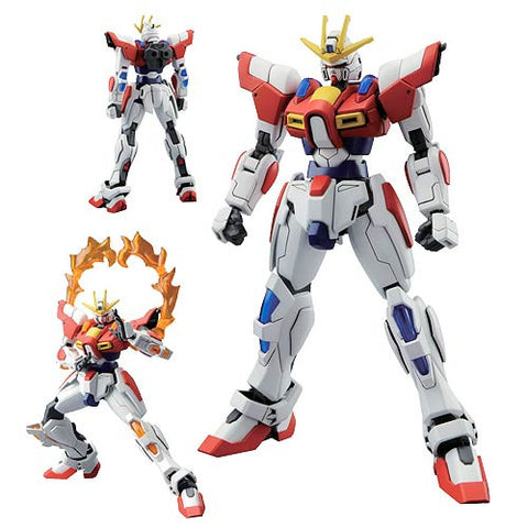 Gundam: Gundam Build Fighters Try Burning Gundam High Grade 1:144 Scale Model