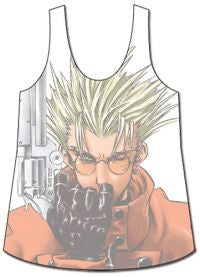 Trigun: Vash the Stampede Tank Top (Size L) ***Damaged