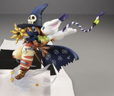 Digimon Adventure: Wizarmon and Tailmon (Gatomon) G.E.M. Series 1/10 Scale Figure