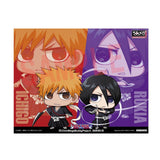 Bleach: ChimiMega Figurine Ichigo and Rukia Set of 2 with Bonus Card