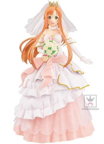 Sword Art Online: Asuna Wedding Ver. EXQ Figurine