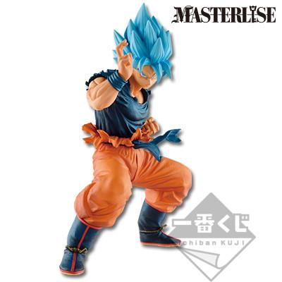 Dragon Ball Super: Masterlise Son Goku SSGSS Ichiban Kuji Figurine