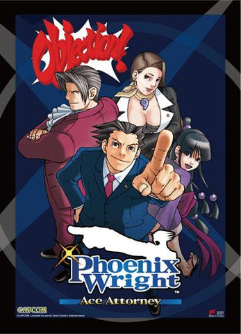 Ace Attorney: Phoenix Wright Cover Art Wall Scroll