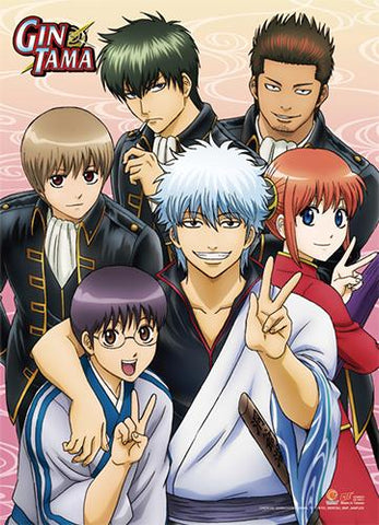 Gintama: Group Photo Wall Scroll