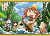 Hakumei & Mikochi: Group Fishing Wall Scroll