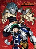 My Hero Academia: Deku & All Might vs. Shigaraki Wall Scroll