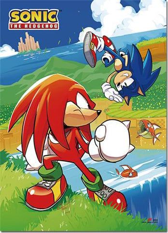 Sonic the Hedgehog: Sonic & Knuckes Wall Scroll