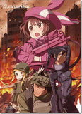 Sword Art Online: Gun Gale Online Group Wall Scroll