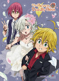 Seven Deadly Sins: Meliodas & Elizabeth Wedding Wall Scroll