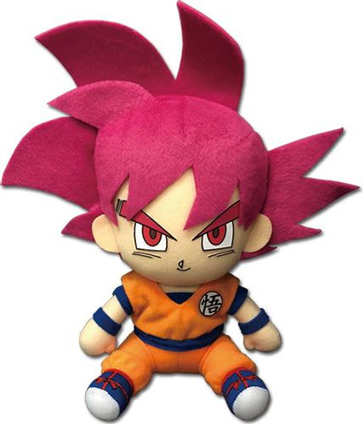 "Dragon Ball Super: SSG Goku Sitting 7"" Plush"