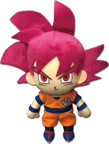 "Dragon Ball Super: SSG Goku 8"" Plush"