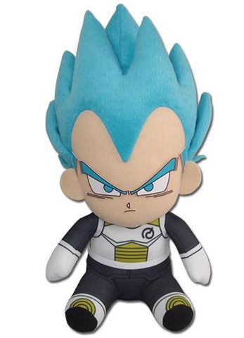 "Dragon Ball Super: SSGSS Vegeta Sitting 7"" Plush"