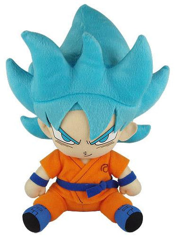 "Dragon Ball Super: SSGSS Goku Sitting 7"" Plush"