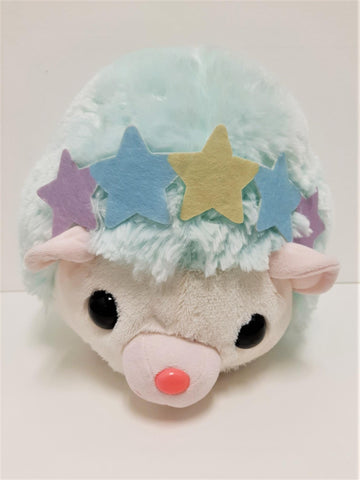 "Amuse: Mint Hedgehog 16"" Plush"
