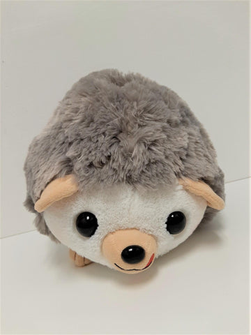 "Amuse: Grey Hedgehog with Clover 12.5"" Plush"