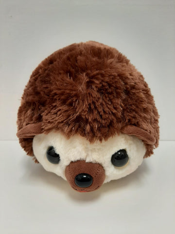 "Amuse: Brown Hedgehog with Clover 12.5"" Plush"