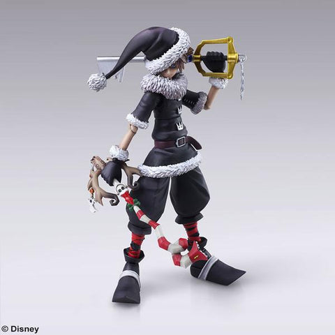 Kingdom Hearts II: Christmas Town Sora Bring Arts
