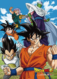 Dragon Ball Super: Fighters Group Wall Scroll