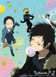 Durarara!!x2: Group & Bubbles Wall Scroll