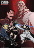 Fullmetal Alchemist Brotherhood: Ed & Ling vs. Envy Wall Scroll