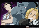 Fullmetal Alchemist Brotherhood: Ed, Al & Izumi Wall Scroll