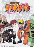 Naruto: Naruto vs. Gaara Wall Scroll