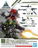 30 Minutes Missions: Option Weapon 1 (for Portanova) 1/144 Scale Model Option Pack