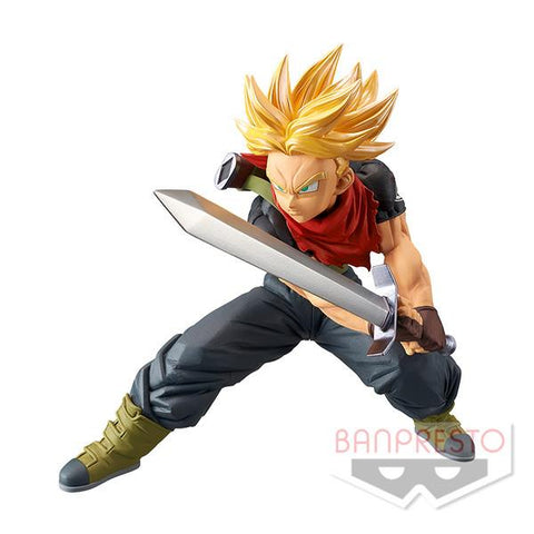 Super Dragon Ball Heroes: SS Trunks Transcendence Arts Figure