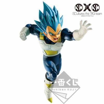 Dragon Ball Super: SSGSS Vegeta Evolved Z-Battle Ichiban Kuji Figure