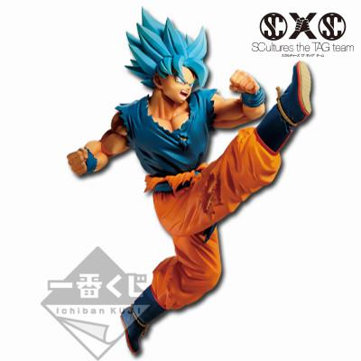 Dragon Ball Super Broly: SSGSS Goku Z-Battle Ichiban Kuji Figure