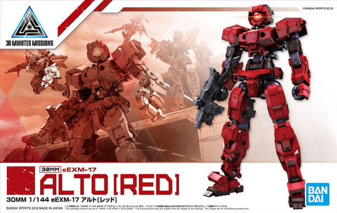 30 Minutes Missions: Alto [Red] 1/144 Model