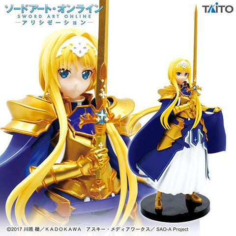 Sword Art Online: Alice Schuberg Integrity Knight Figure
