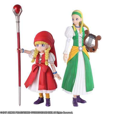 Dragon Quest: Veronica & Serena Bring Arts