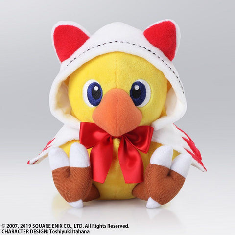 "Final Fantasy: Chocobo's Mystery Dungeon Chocobo White Mage 6"" Plush"