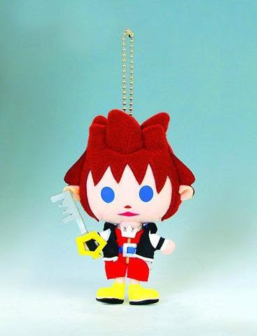 "Kingdom Hearts: Sora 4"" Plush Key Chain"