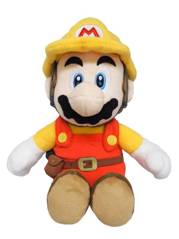 "Super Mario Bros.: Mario (Super Mario Maker) 7"" Plush"