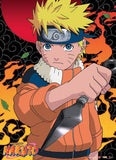 Naruto: Naruto with Kunai Wall Scroll
