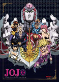 Jojo's Bizarre Adventure: Season 4 Key Art B Wall Scroll