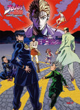 Jojo's Bizarre Adventure: Season 3 Key Art Group C Wall Scroll