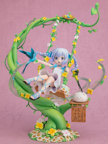 Is the Order a Rabbit?: Chino Flower Swing F:NEX 1/7 Scale Figure