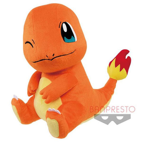 "Pokemon: Charmander Mecha Dekai 13"" Banpresto Plush"