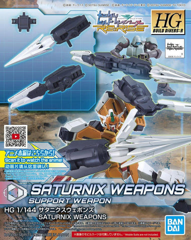 Gundam: Saturnix Weapons HG Model Option Pack
