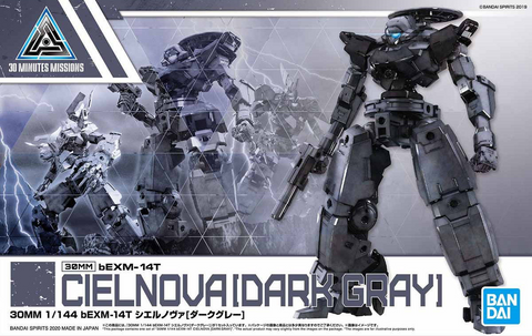 30 Minutes Missions: Cielnova [Dark Grey] 1/144 Model