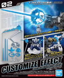 30 Minutes Missions: Customize Effect Gunfire Image ver. [Blue]