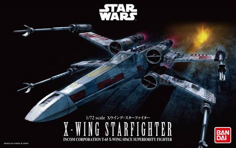 Star Wars: X-Wing Starfighter 1/72 Scale Model