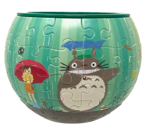 My Neighbour Totoro: AT8-02 The World Goes Around Art Bowl Jigsaw